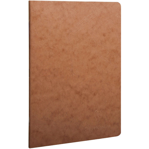 Age Bag Stapled Notebook A5 Brown