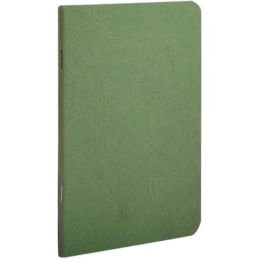 Age Bag Stapled Notebook A6 Green
