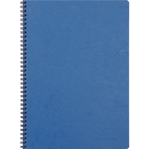 Age Bag Wirebound Notebook A4 Blue