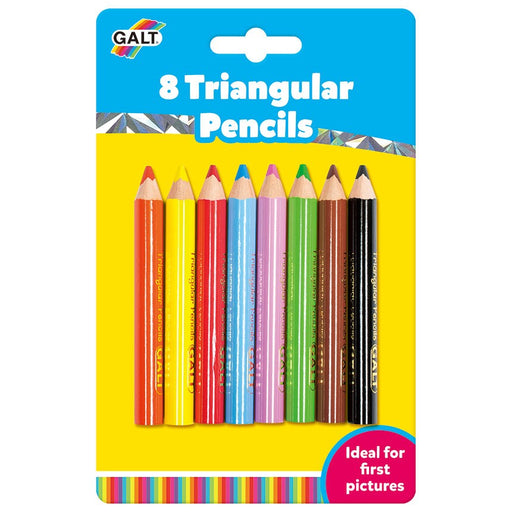 Galt 8 Triangular Colouring Pencils