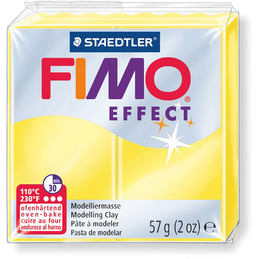 Fimo Effect 58g Tr. Yellow