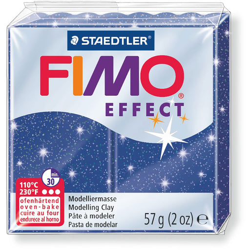Fimo Effect 58g Met. Blue