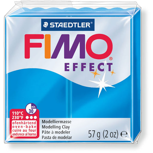 Fimo Effect 58g Trans. Blue