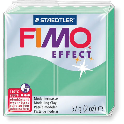 Fimo Effect 58g Jade Green