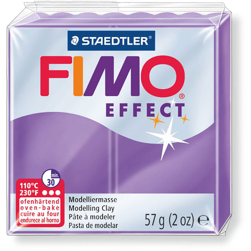 Fimo Effect 58g Transparent Violet