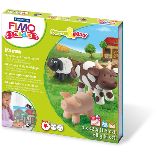 Fimo Kids Form & Play Set Farm