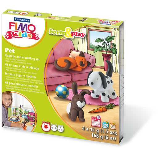 Fimo Kids Form & Play Set Pet