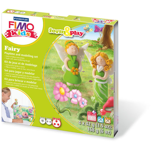 Fimo Kids Form & Play Set Fairy