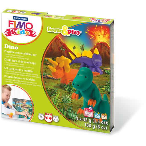 Fimo Kids Form & Play Set Dino