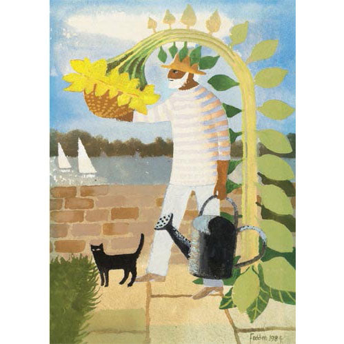 Mary Fedden Ra - Julian And Sunflower