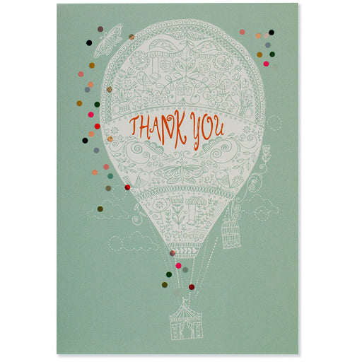 Thank You Note Up, Up, And Away