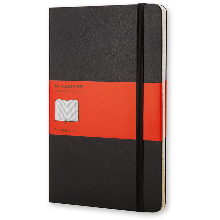 Hardcover Address Book Large