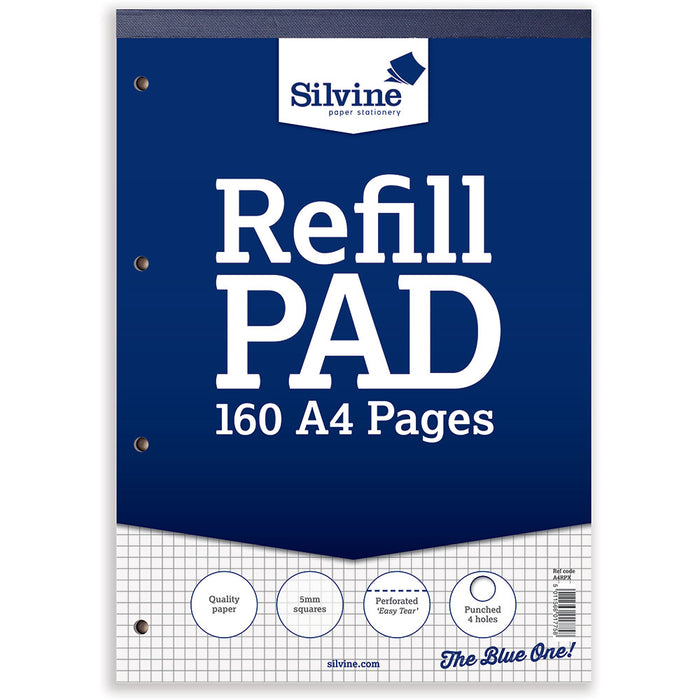 A4 Refill Pad 5mm Quadrille