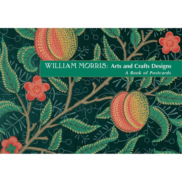 William Morris: Arts And Crafts Designs Book Of Postcards