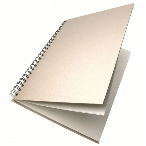 Frisk Greyboard Spiral Cartridge Book 150gsm 40s Long Edge A5
