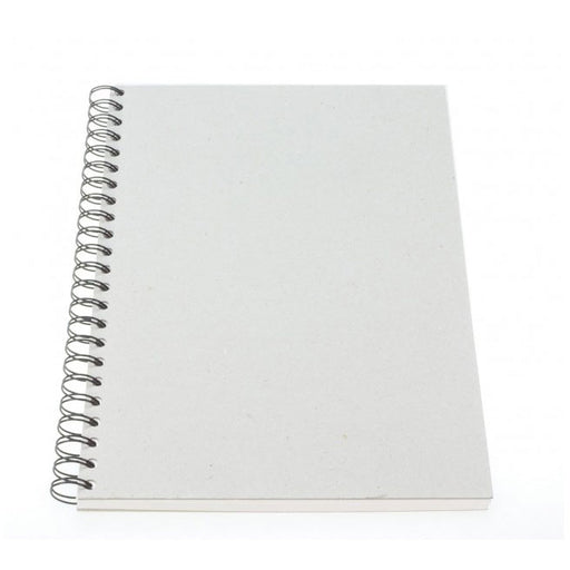 Frisk Greyboard Spiral Cartridge Book 220gsm 30s Long Edge A4