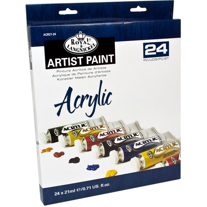 21ml Acrylic Paint 24 Tubes