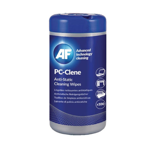 AF PC-Clene Anti-Static Cleaning Wipes Tub PCC100