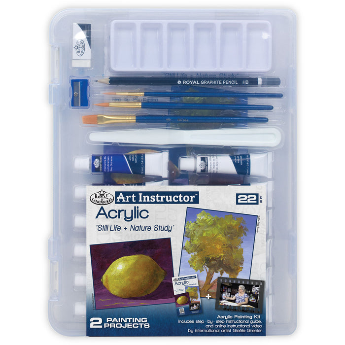 Art Instructor Acrylic With Small Clearview Case