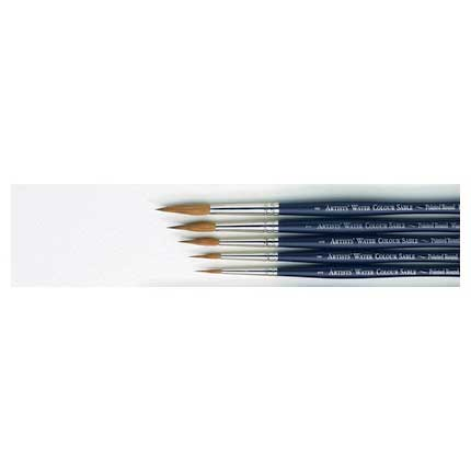 Winsor & Newton Artists Sable Pointed Round 6