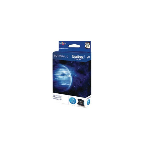 Brother LC1280XLC High Yield Cyan Inkjet Cartridge LC-1280XLC