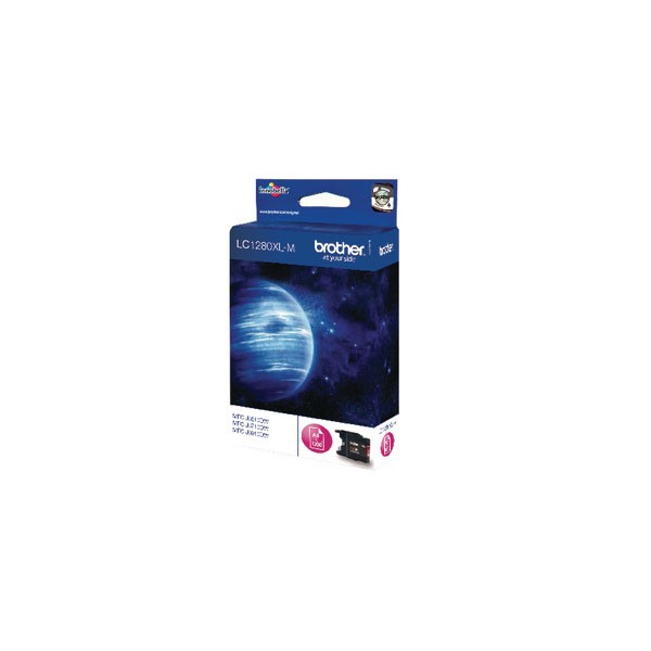 Brother High Yield Magenta Inkjet Cartridge LC1280XLM