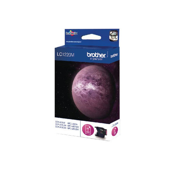 Brother LC1220M Magenta Inkjet Cartridge