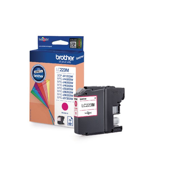 Brother LC223M Magenta Inkjet Cartridge