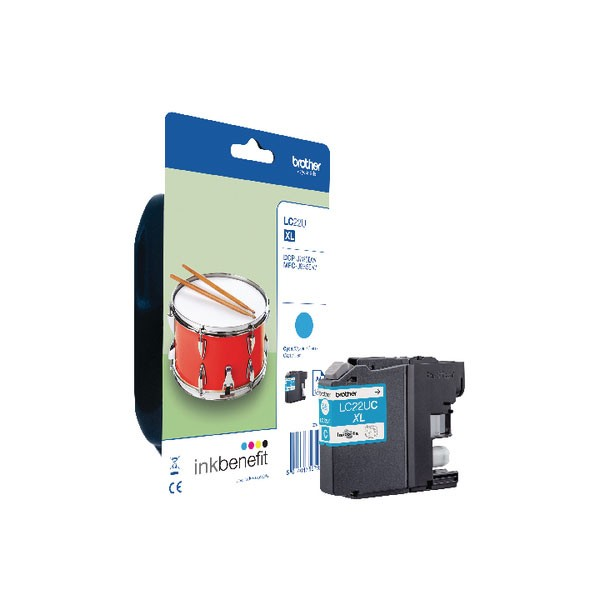 Brother LC22UC Cyan Ink Cartridge LC22UC