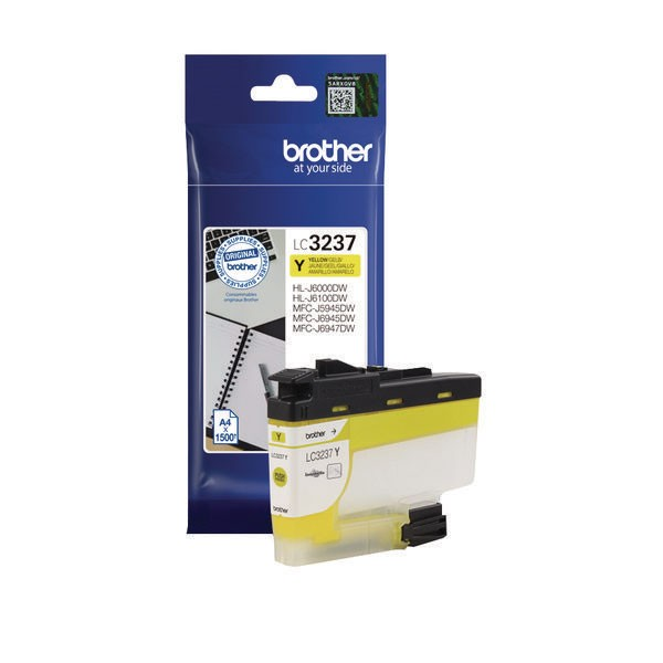 Brother LC3237Y Yellow Ink Cartridge LC3237Y