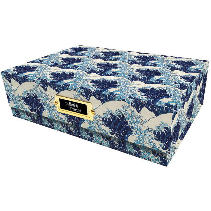 Stationery Box Hokusai Wave