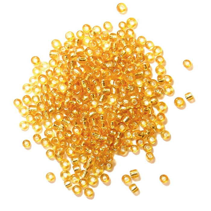 Rocailles Beads  2mm: Gold