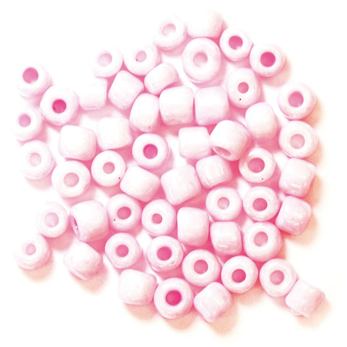 E Beads 4mm: Pink