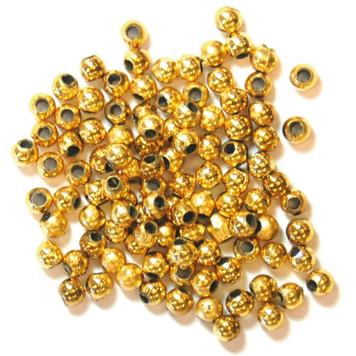 Pearls 3mm: Gold