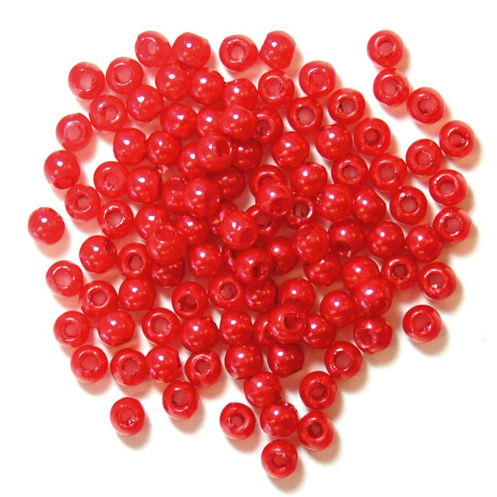 Pearls 3mm: Red