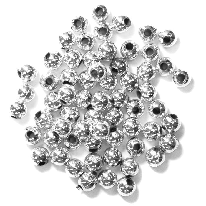 Pearls 4mm: Silver
