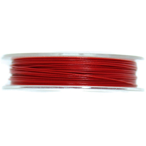Steel Wire 5mx0.45mm: Red