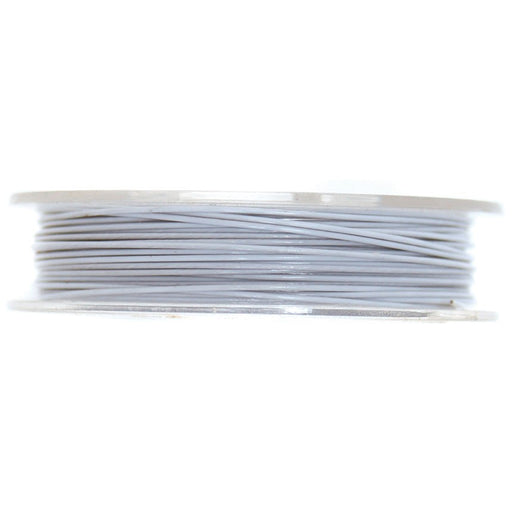 Steel Wire 5mx0.45mm: White