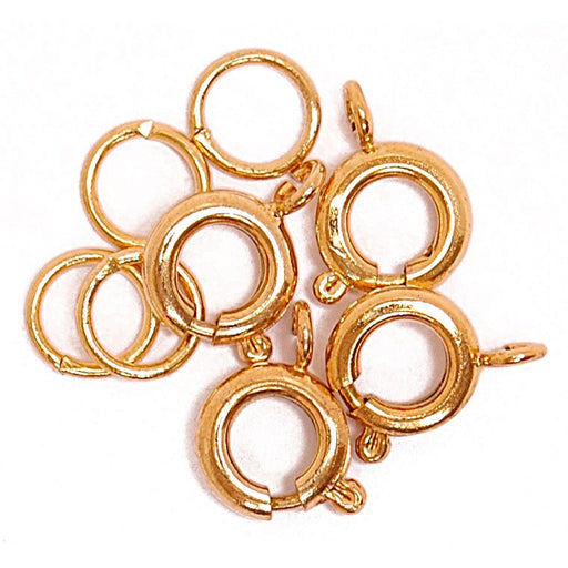 Bolt And Spring 4pk: Gold Plated