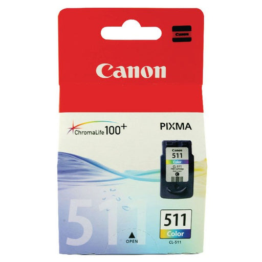 Canon CL-511 CMY Colour Ink Cartridge 2972B001