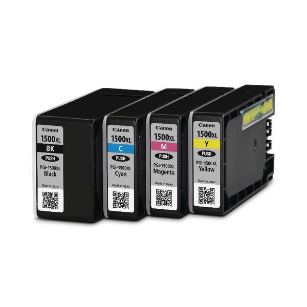 Canon PGI-1500XL CMYK Ink Cartridge Multipack 9182B004