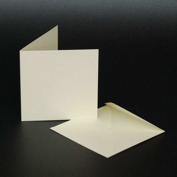 3x3 Cards and Envelopes 50 Pack Ivory