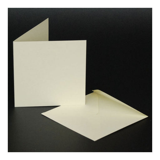 4x4 Cards and Envelopes 50 Pack Ivory