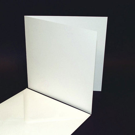 8x8 Cards and Envelopes 25 Pack White