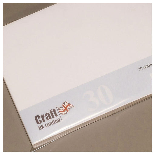 8x8 Envelopes 30 Pack White
