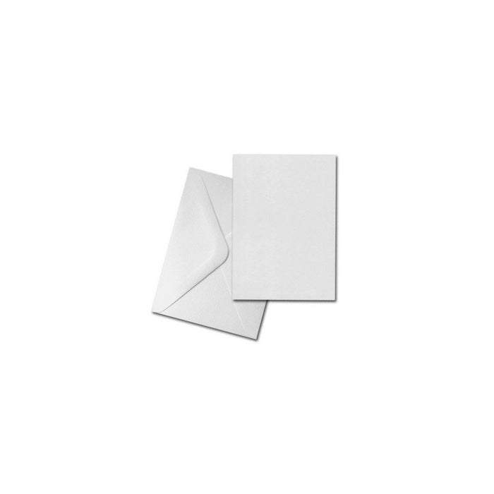 C5 Cards and Envelopes 25 Pack White