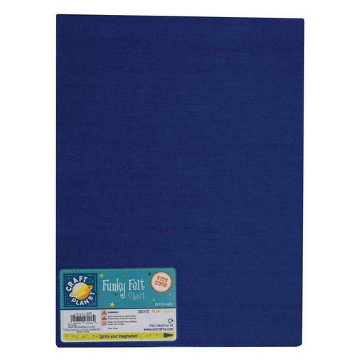 9 x 12 Acrylic Felt - Royal Blue