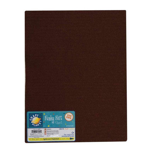 9 x 12 Acrylic Felt - Dark Brown