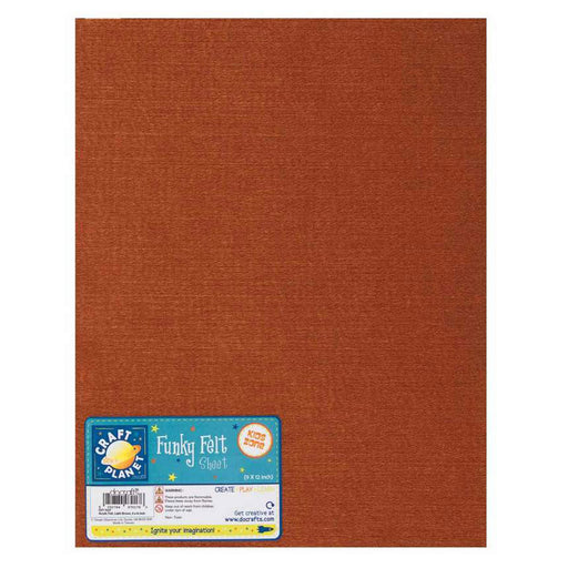 9 x 12 Acrylic Felt - Light Brown
