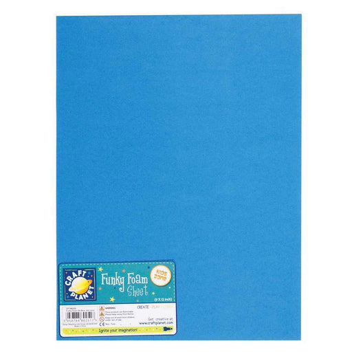 9 x 12 Funky Foam Sheet (2mm Thick) - Blue